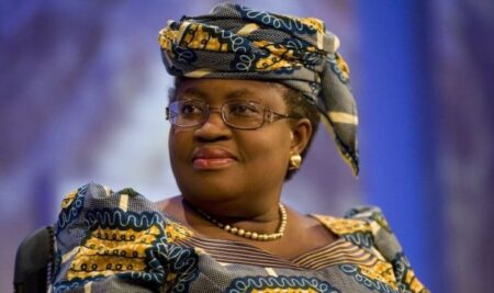 Ngozi Ngozi Okonjo-Iwealato become the first woman and the first African to lead the World Trade Organization